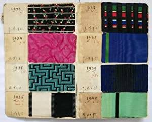 A Sample Book of Fashion Fabrics dating from Winter 1897.