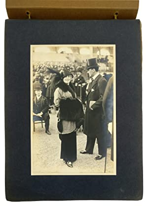A Photograph Album illustrating the 1912 Deauville Season and its Fashions.