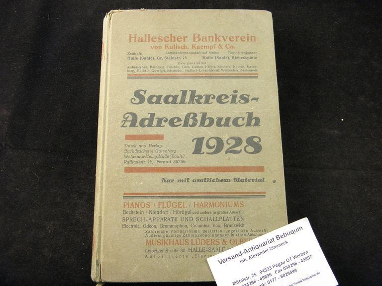 Adressbuch Regensburg