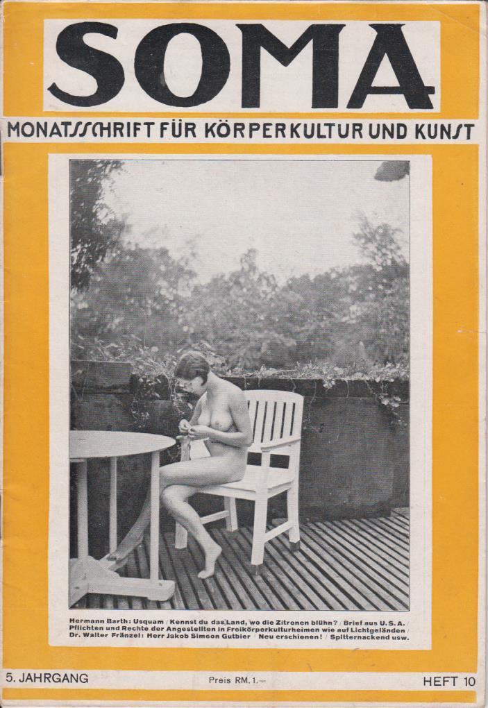 vintage fkk magazin galerien nackt