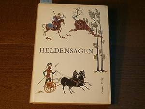 Nacherzählt) Heldensagen. Ilias, Odyssee, Mahabharata, Schah-Name, Nibelungenlied,: ROMAN, Jozsef: