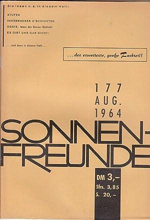 Heft 177. Offizielles Organ der deutschen Bundes: FKK.- SONNENFREUNDE.-