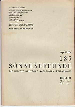 Heft 185. Offizielles Organ der deutschen Bundes: FKK.- SONNENFREUNDE.-