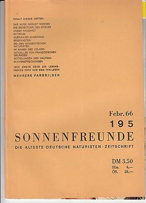 Heft 194. Offizielles Organ der deutschen Bundes: FKK.- SONNENFREUNDE.-