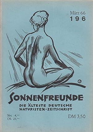 Heft 196. Offizielles Organ der deutschen Bundes: FKK.- SONNENFREUNDE.-