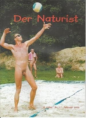 2003. Hrsg. vom deutschen Verband für Freikörperkultur.: FKK.- DER NATURIST.-