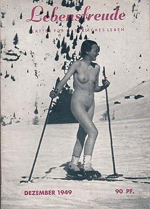 1949 / 12. Blütter für natürliches Leben.: FKK.- LEBENSFREUDE.-