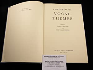 A Dictionary of Vocal Themes.