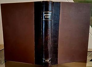 Romanæ Historiæ Anthologia Recognita & Aucta: An: GODWYN (Goodwin), Thomas,