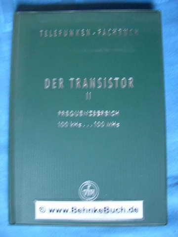 telefunken fachbuch der transistor - ZVAB