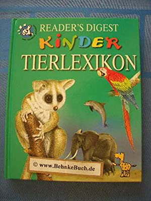 Reader's Digest Kinder Tierlexikon.: Thiel, Hans Peter.