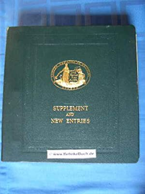 New entries to the Register book 1974: Lloyd's Register of