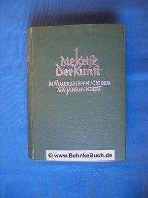 Die Krise der Kunst in Malerbriefen aus: Rudolph, Susanne.