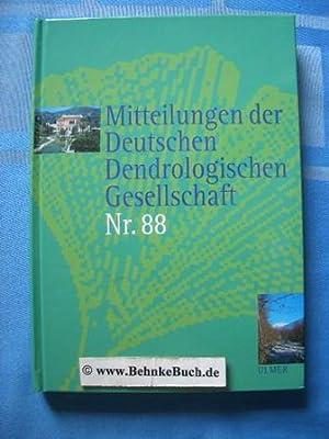 Mitteilungen der deutschen dendrologischen Gesellschaft. Band 88.