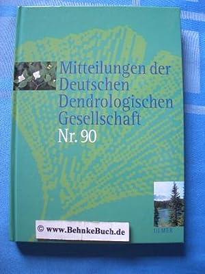 Mitteilungen der deutschen dendrologischen Gesellschaft. Band 90.: Jesch, H.-H.