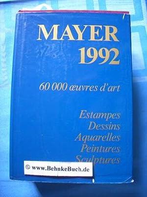 Mayer. Le livre international des ventes 1992