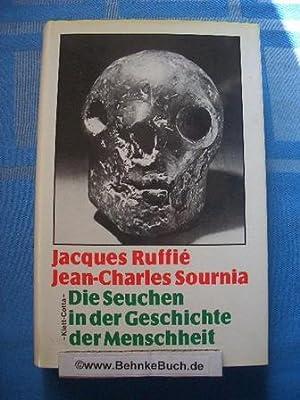 Die Seuchen in der Geschichte der Menschheit.: Ruffie, Jacques und
