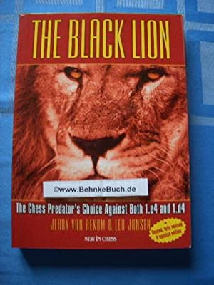 The Black Lion: The Chess Predator's Choice: Rekom, Jerry Van.