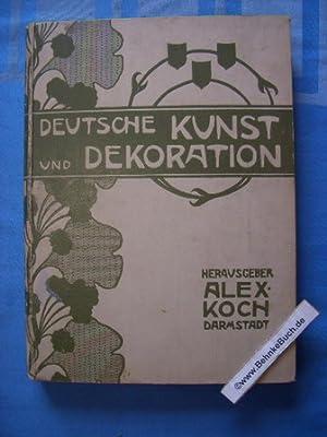 Deutsche Kunst und Dekoration. Band V. Oktober: Koch, Alexander.
