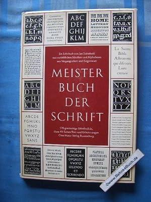 Meisterbuch der Schrift : ein Lehrbuch mit: Tschichold, Jan.