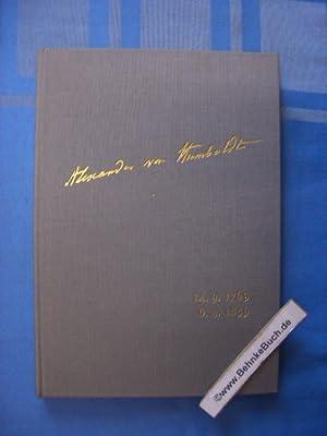 Alexander von Humboldt : Wirkendes Vorbild für: Humboldt, Alexander von.