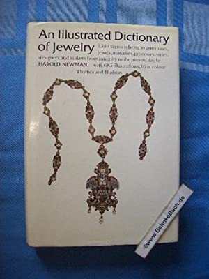 An illustrated dictionary of jewelry. 2,530 entries,: Newman, Harold.