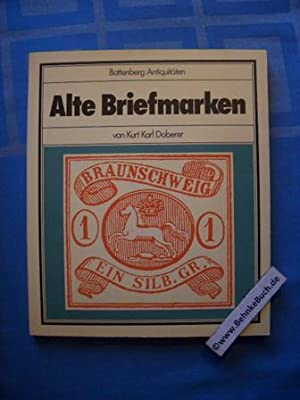Alte Briefmarken. Battenberg-Antiquitäten.