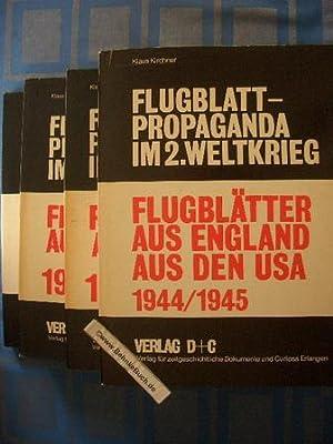 Flugblätter aus England, aus den USA. Bibliographie: Kirchner, Klaus (Herausgeber)