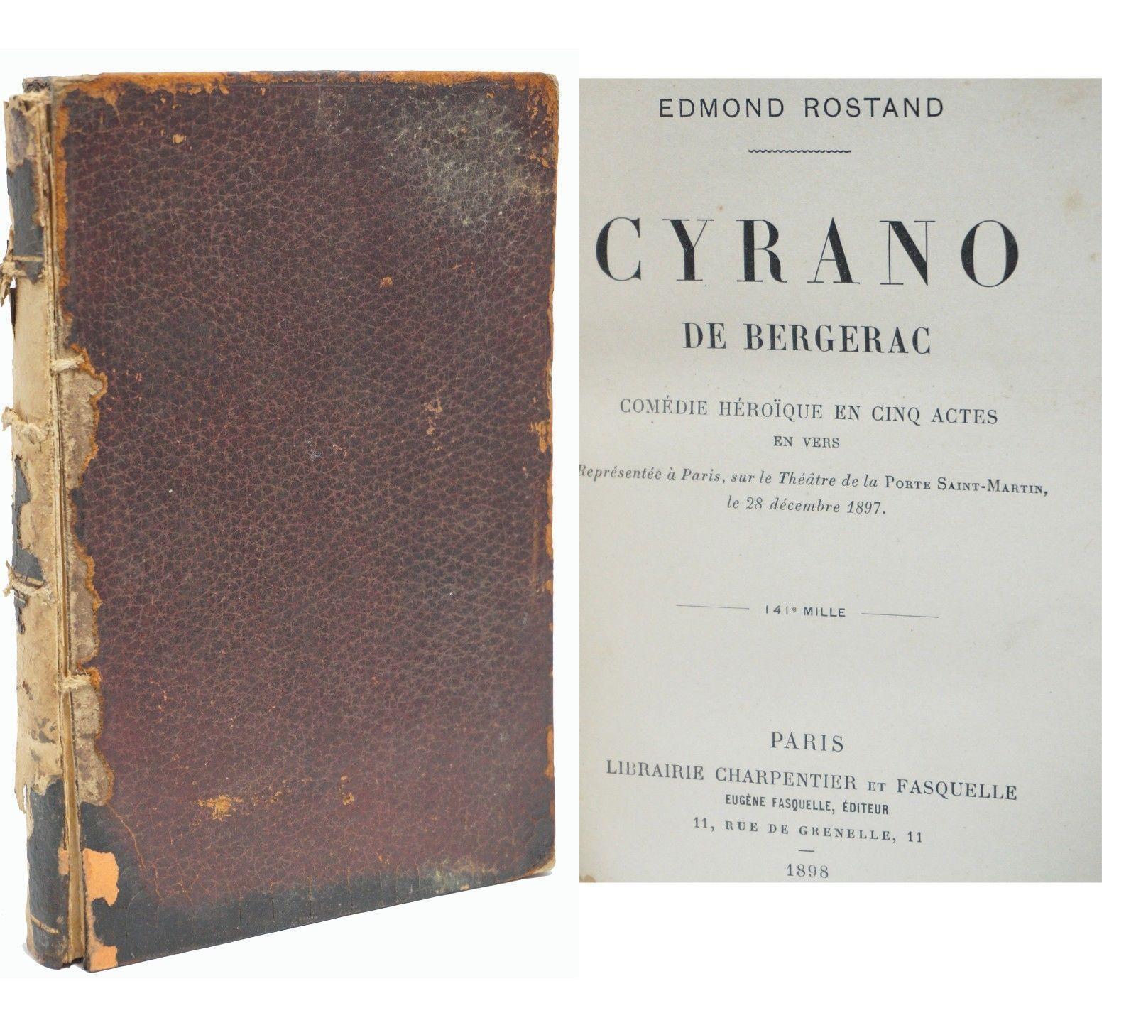 an overview of edmond rostands book cyrano de bergerac Cyrano de bergerac french vintage play script an overview of the play cyrano de bergerac book/victor  in edmond rostands cyrano de bergerac that wont.