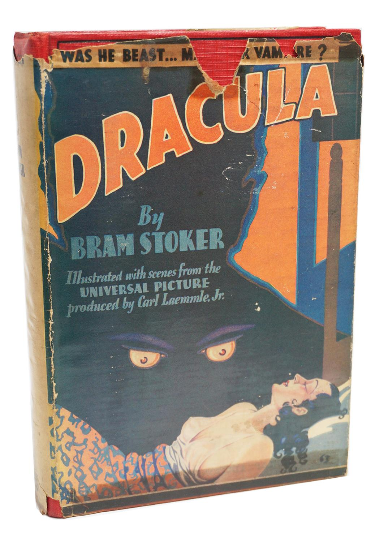 DRACULA Bram Stoker 1st Edition 1899 SUPERIOR PRESENTATION COPY SIGNED Letter