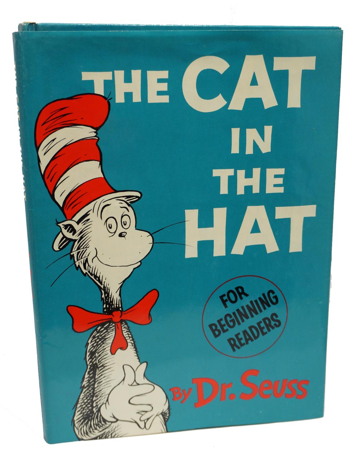 c0e443e5 The Cat in the Hat by Dr. Seuss: Random House Hardcover - 1st ...