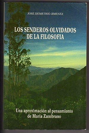 Los senderos olvidados de la filosofía: Una: Jiménez S.-Mariscal, Jose