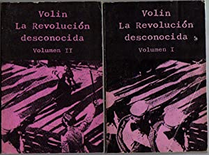 La Revolución desconocida (2 tomos): Volin