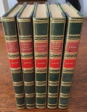 THE NOVELS. Five Volumes; Sense and Sensibility.: AUSTEN. JANE. ;