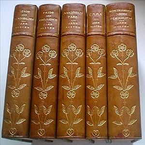 THE NOVELS. Five Volumes. Sense and Sensibility;: AUSTEN. JANE.; C.