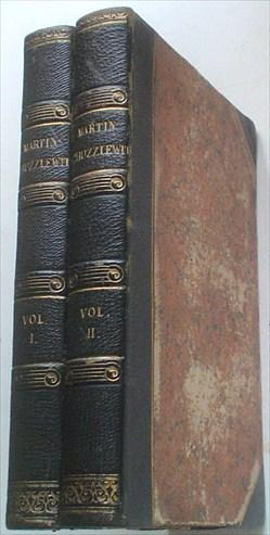 THE LIFE AND ADVENTURES OF MARTIN CHUZZLEWIT.: DICKENS. CHARLES.