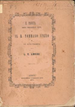 Il Profeta del secolo XIV o il: AMONI Leopoldo