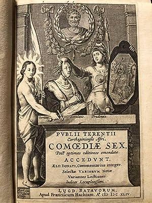 Publii Terentii Carthaginiensis Afri, Comoediae sex, post: Publio Afro TERENZIO