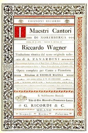 Riccardo WAGNER - I Maestri cantori di