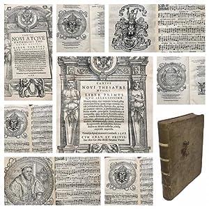 Cantus Novi Thesauri Musici Liber primus quo: GIOVANNELLI Pietro (IOANNELLUS
