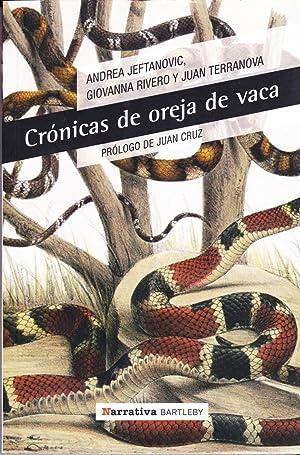 Cronicas De Oreja De Vaca: Andrea Jeftanovic; Giovanna