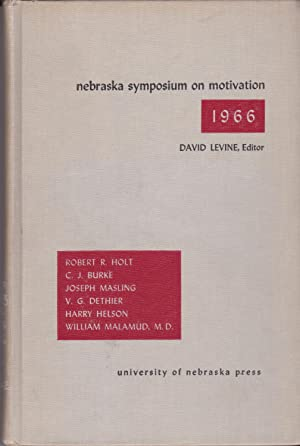 Nebraska symposium on Motivation 1966: David Levine, Editor