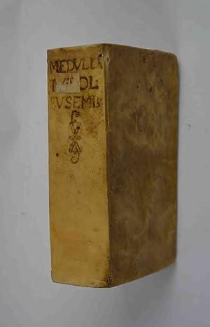 Medulla theologiae moralis, facili ac perspicua methodo: BUSENBAUM HERMANN.