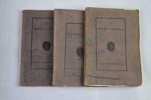 La Divina Commedia manoscritta da Boccaccio.: DANTE ALIGHIERI.