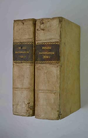 Rationarium temporum. cui accesserunt, praeter dissertationes et: PETAVIUS DIONYSIUS.