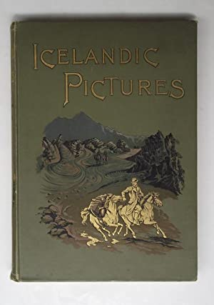 Icelandic pictures drawn by pen and pencil.