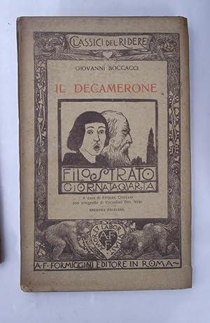 Il Decamerone. a cura di Ettore Cozzani.: BOCCACCIO GIOVANNI.