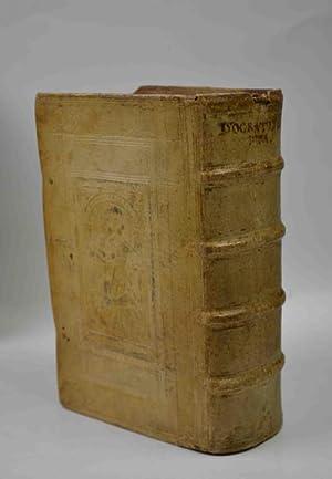Isocratis Scripta, quae quidem nunc extant, omnia,: ISOCRATE.