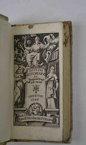 Historiarum ex Trogo Pompejo libri XLIIII.: JUSTINUS MARCUS JUNIANUS.