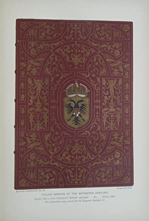 A Collection of Facsimiles from Examples of Historic or Artistic Book-Binding, illustrating the H...